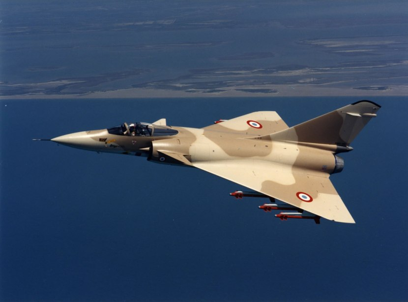 Picture Of Dault Mirage 2000 Multirole Fighter Strike Aircraft