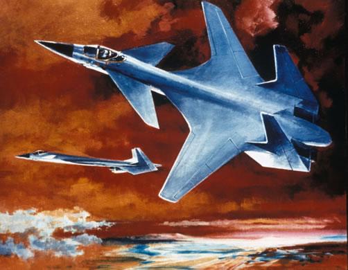 Northrop FSW fighter concept