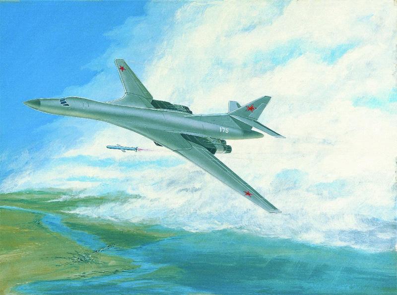 Early artist's impression of Tu-160 'Blackjack'