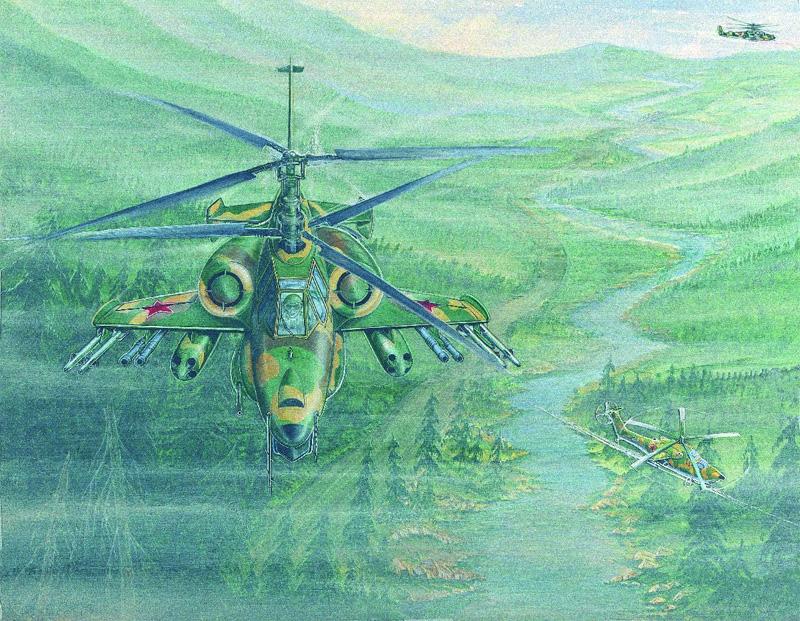 Kamov Ka-50 'Hokum' early artist's impression