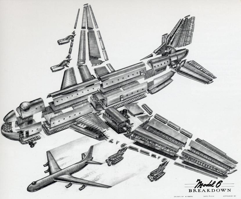 Convair Model 6 Jet Airliner