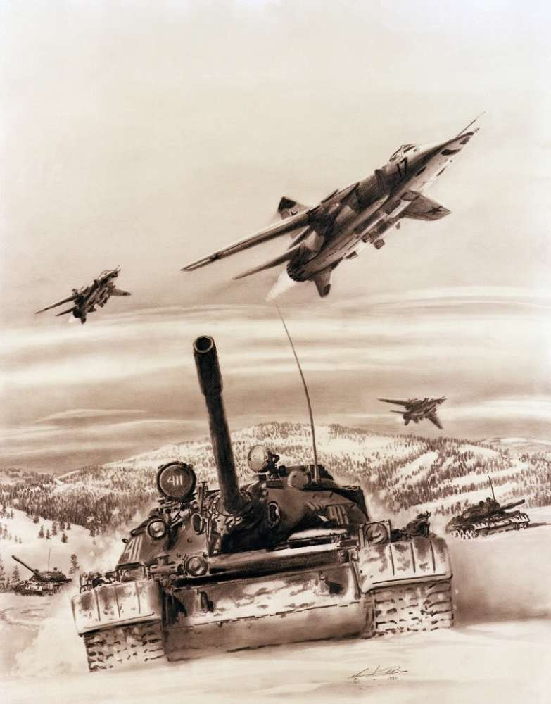 MiG-27 artist's impression