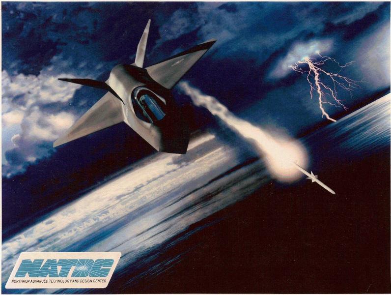 Northrop stealth fighter