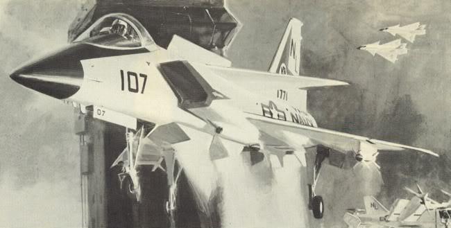 General Dynamics Type 200 V/STOL naval fighter