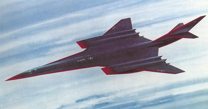 Lockheed manned hypersonic fighter concept (1980s)