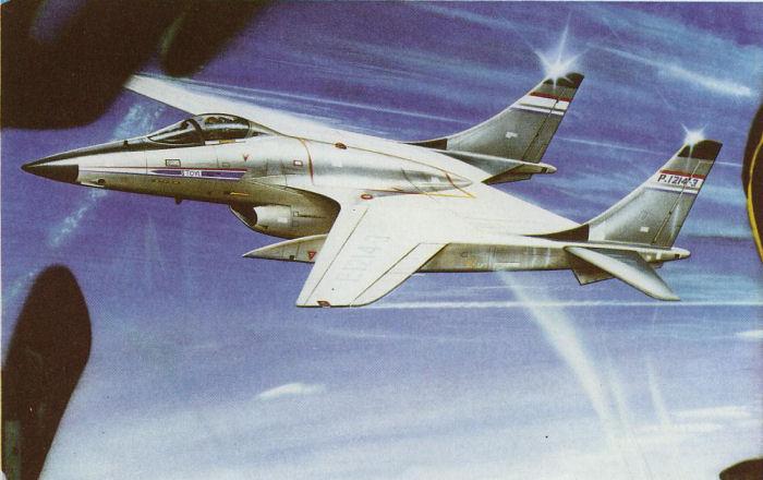 BAe P.1214-3 fighter concept