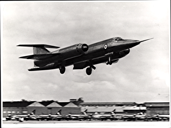 The Bristol 188 was slower than the RAF's top fighter of the time the EE Lightning (lined up on the ground). If the 188 had been built from titanium and powered by the Olympus or Avon it may have achieved its goals. The US' SR-71was built to spy on the Soviet Union, ironically the titanium it was built from was secretly-sourced from the very country it was made to spy on!