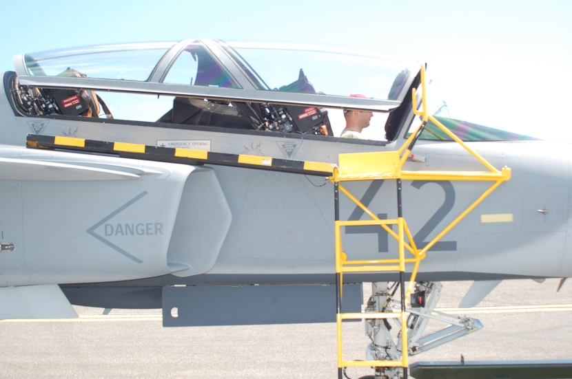 A little Gripen treat: behind the scenes at Piešťany, 2010