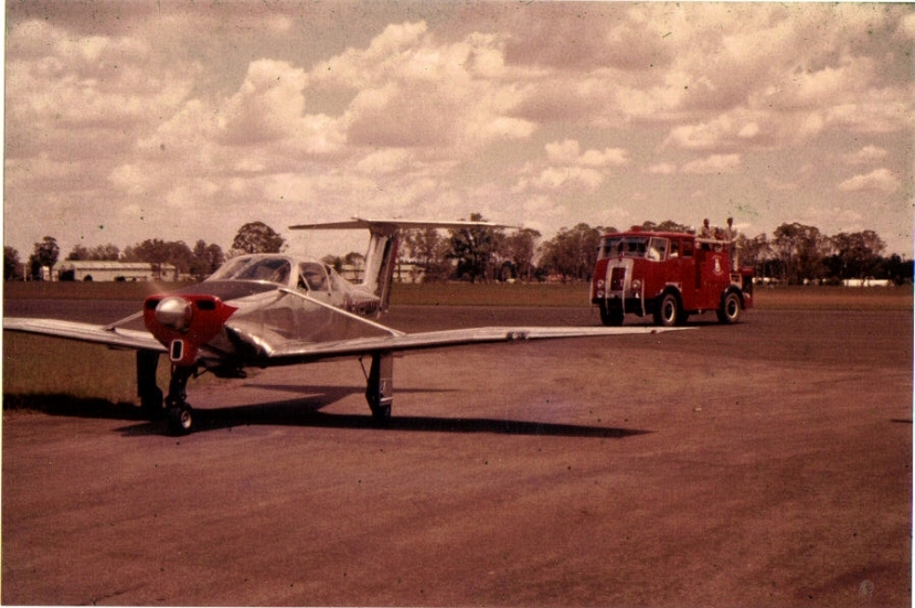 Victa_R2_Schofields_test_flight_Ken_McGowan