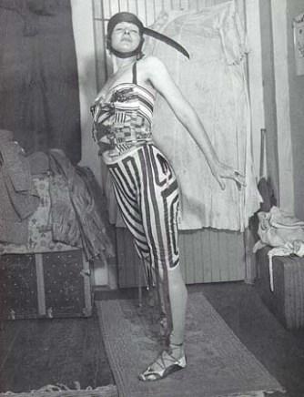 A Gratuitous photo of the 'Dada Baroness', Baroness Elsa von Freytag-Loringhoven