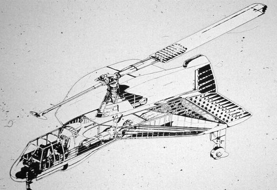 Sikorsky S-57  convertiplane