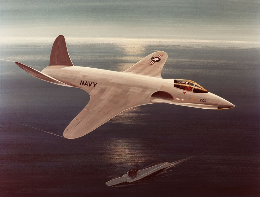 The stunningly gorgeous McDD Quiet Attack Aircraft concept