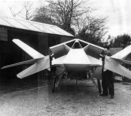 Where, when and what? 1930s stealth fighter?