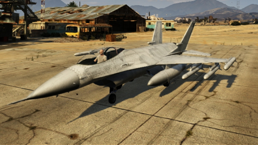 The Mystery of the P-996 Lazer Fighter Jet from Grand Theft Auto 5
