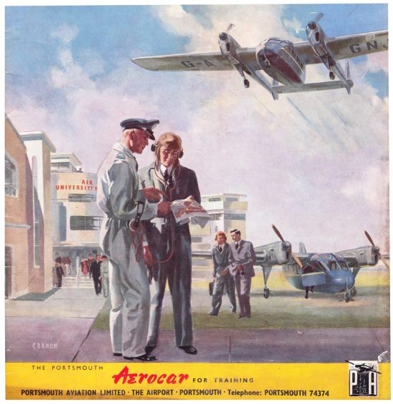 PortsmouthAviation-Aerocar Air University-1946-1
