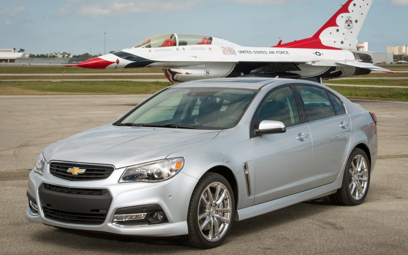 2014_Chevrolet_SS_with_air_force_jet