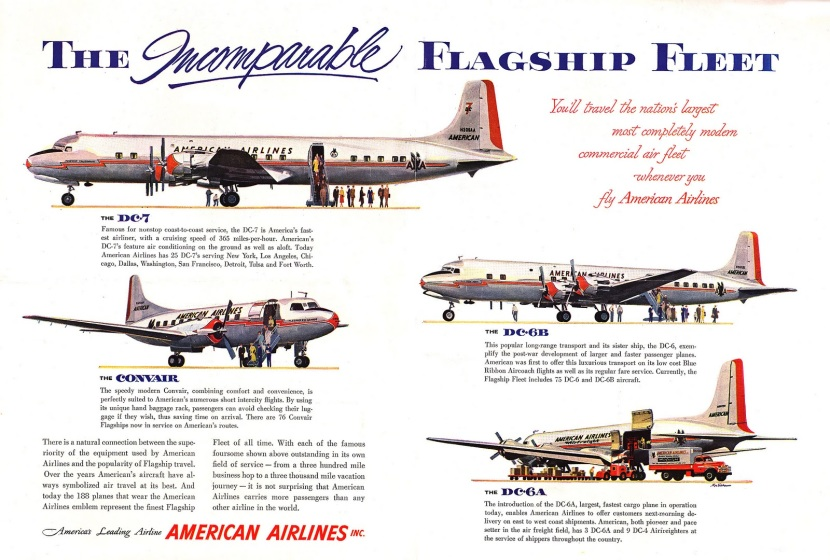 American Airlines aircraft, 1954