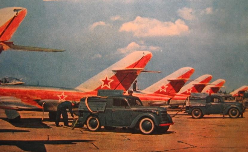 MIG-17 234 GV IAP PATRULLA ACROBATICA KUBINKA 1956