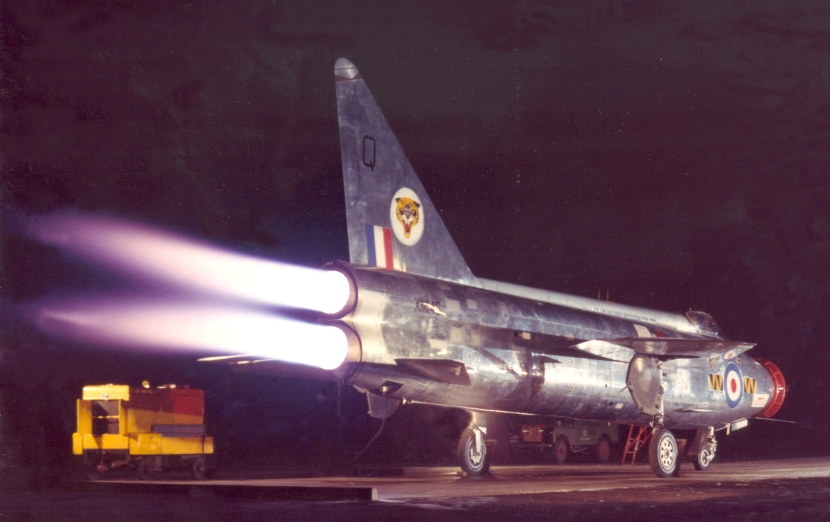 Images of the English Electric Lightning, supplied by BAE Systems Military Air and Information (MAI).