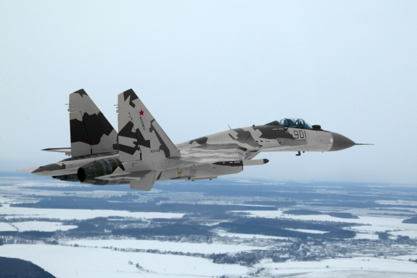 Sukhoi-Su-35-Widescreen-Background-Image