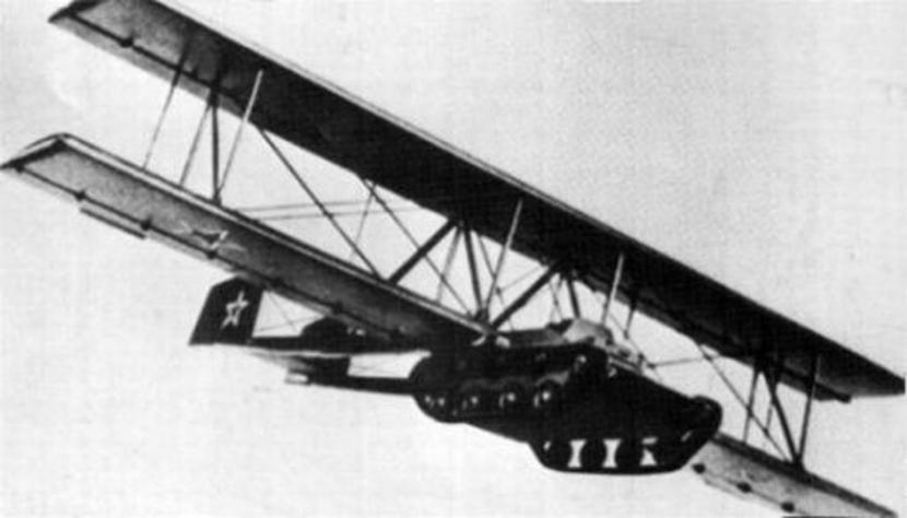 Soviet glider tank