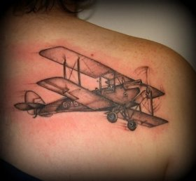 Aeroplane Tattoo