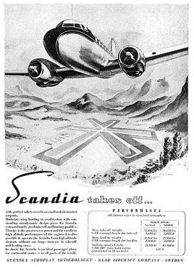 Aircraft Manufacturers-SAAB-1949-28633