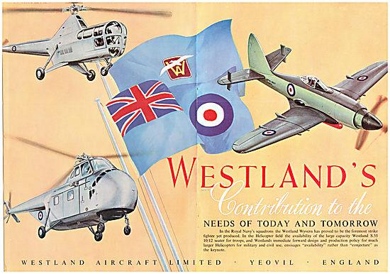 Aircraft Manufacturers-Westland-1954-2681