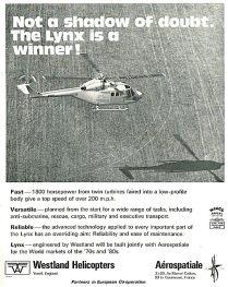Aircraft Manufacturers-Westland-1971-4981