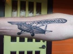 aircraft plane tattoos (4)