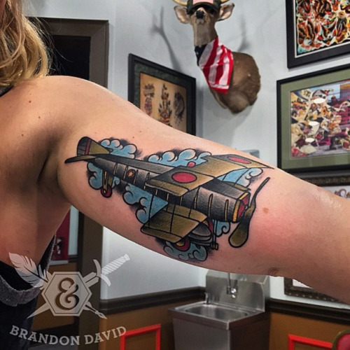 Have a look at these plane tattoos | Hush-Kit