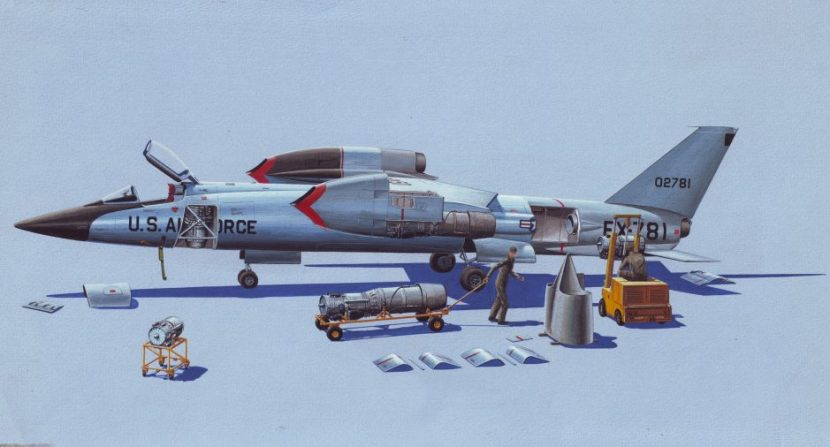Ten incredible cancelled military aircraft hush kit in 1955 the us navy and air force approached bell aircraft corporation with a far out idea design a mach two fighter capable of launching and landing publicscrutiny Images