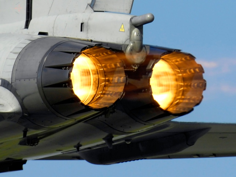 A_Typhoon_F2_fighter_ignites_its_afterburners_whilst_taking_off_from_RAF_Coningsby_MOD_45147957.jpg