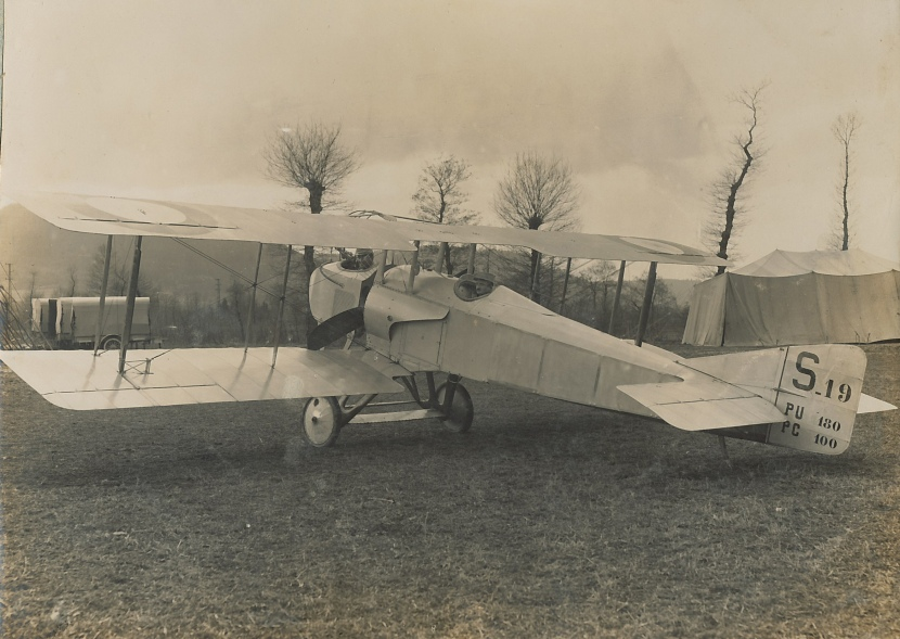 SPAD_S.A-2_belonging_to_Escadrille_N49_at_Corzieux