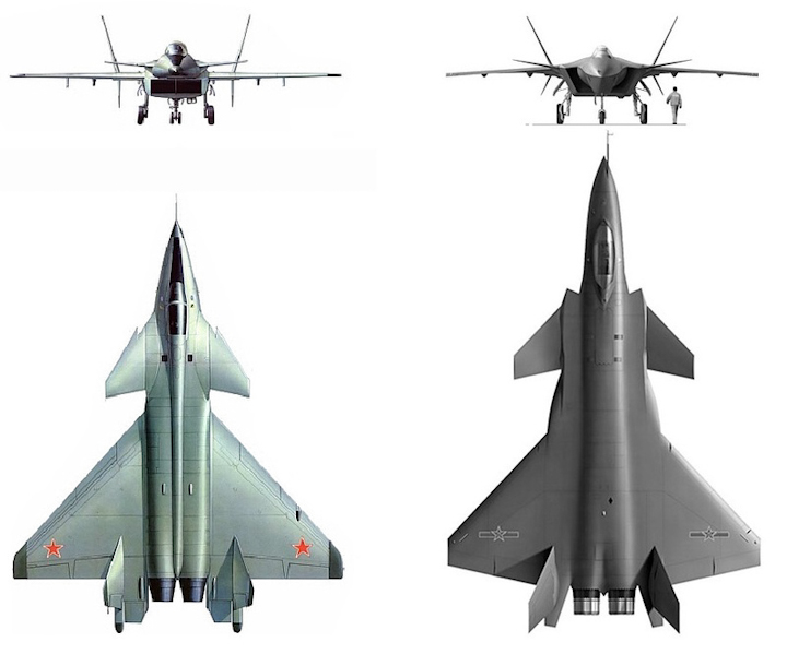 Image result for chengdu j 20 compared to mig 1.443 view images