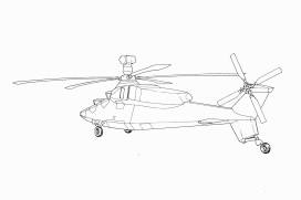 Westland Project WG47 rear three quarter small