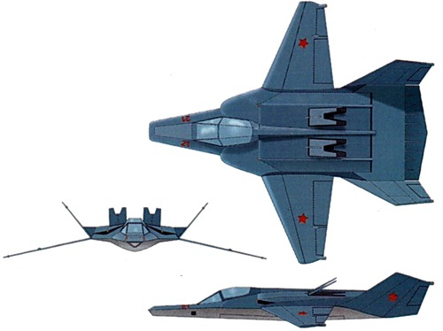 Mikoyan-Gurevich MiG-37B Ferret E [LIMITED to 500px]