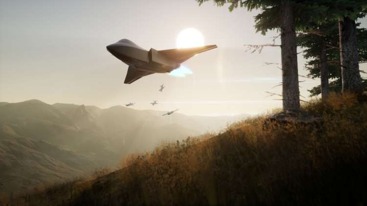 UAVs 'swarming' on the Tempest Picture BAE Systems