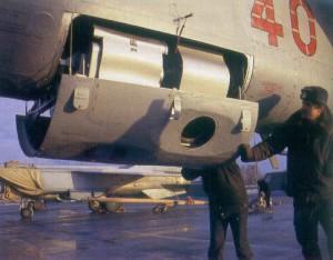 MiG-25RBV Foxbat-B camera bay