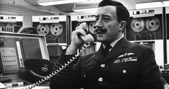 Peter Sellers in Stanley Kubrick's DR. STRANGELOVE (1964). Credi