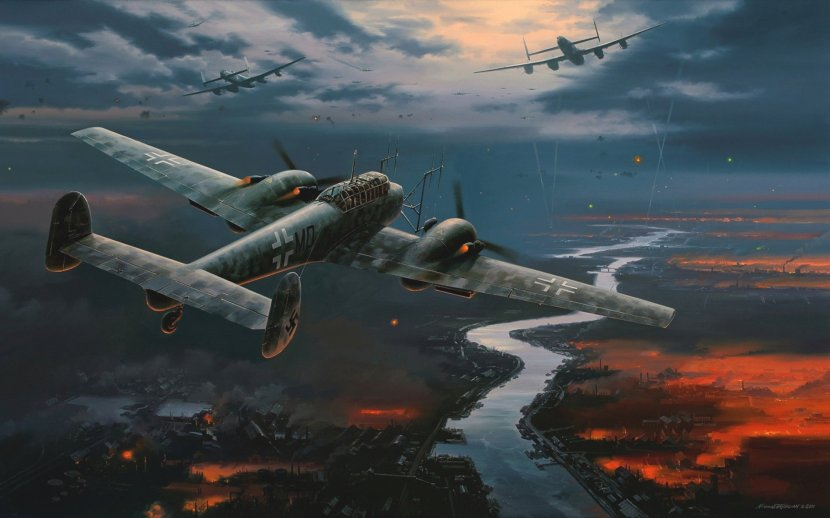 picture-nicolas-trudgian-plane-night-fighter-messerschmitt-bf110-bomber-luftwaffe-the-germans.jpg