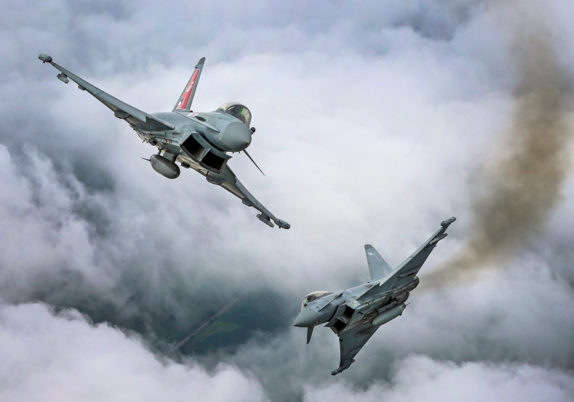 Two_Typhoon_FGR4_aircraft,_flown_by_29_(R)_Squadron_from_RAF_Coningsby_MOD_45164128.jpg