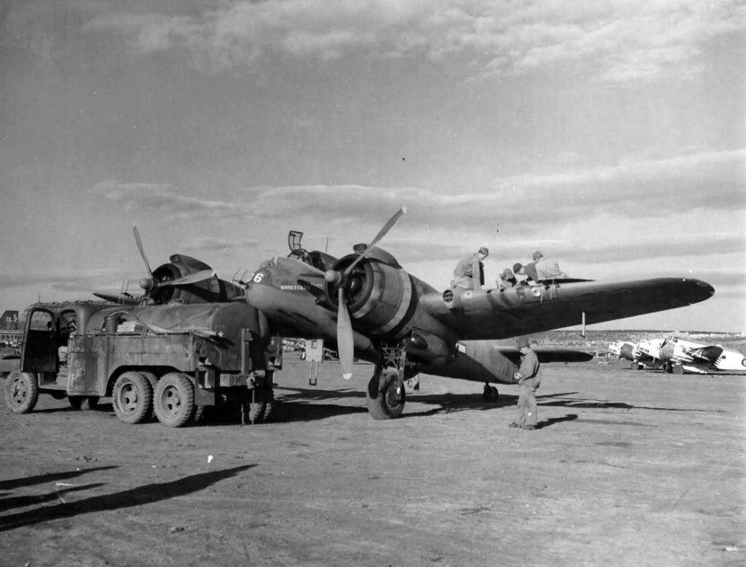 USAAF_Beaufighter_Honeychile_416_NFS_refueling_Grottaglie_Italy_17_Nov_1943.jpg