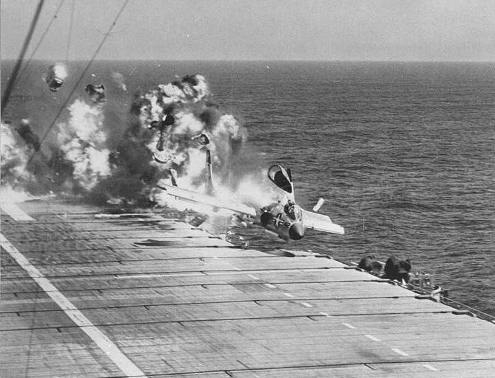 F7U-3_CVA-19_ramp_strike_1955.jpg