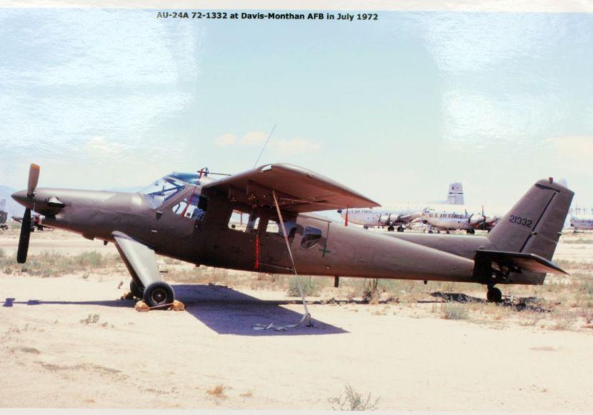Helio_AU-24A_Stallion_in_storage_at_Davis-Monthan_AFB,_July_1972.jpg