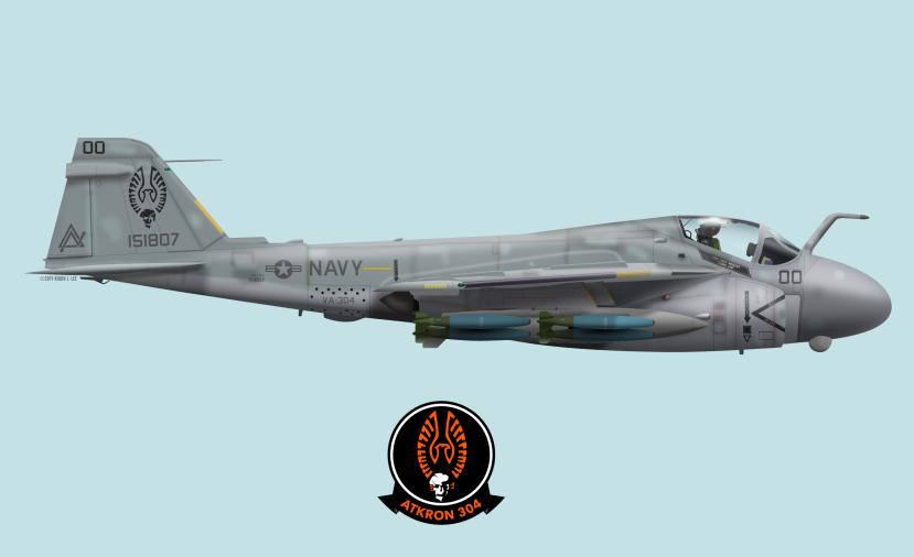 A-6E ND500 1991