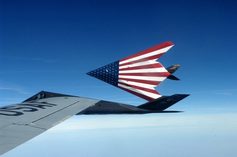 Stealthy stars and stripes