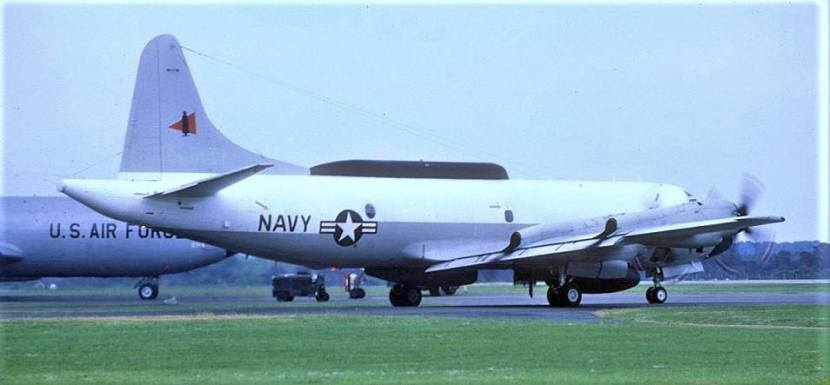 EP-3E VQ-2 RAF Fairford 1978