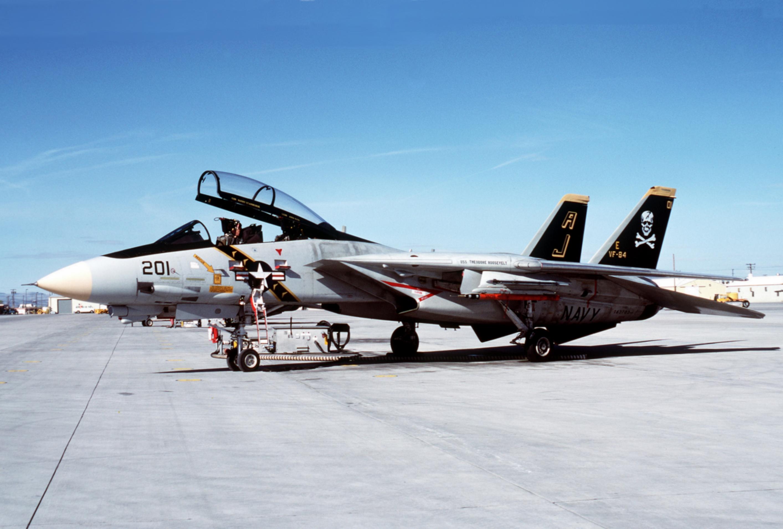 F-14A_VF-84_at_NAS_Fallon_1988