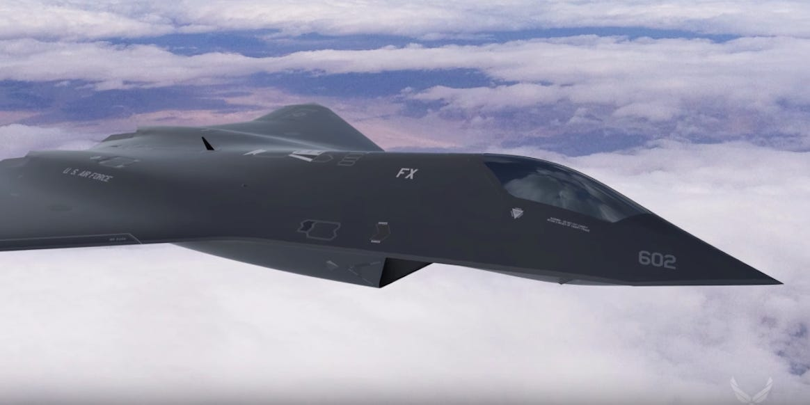 The US Air Force Secretly Designed and Flew a New Fighter Jet Testbed and I just Feel Depressed